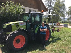 CLAAS ARION 420 CIS CLAAS LINER 370